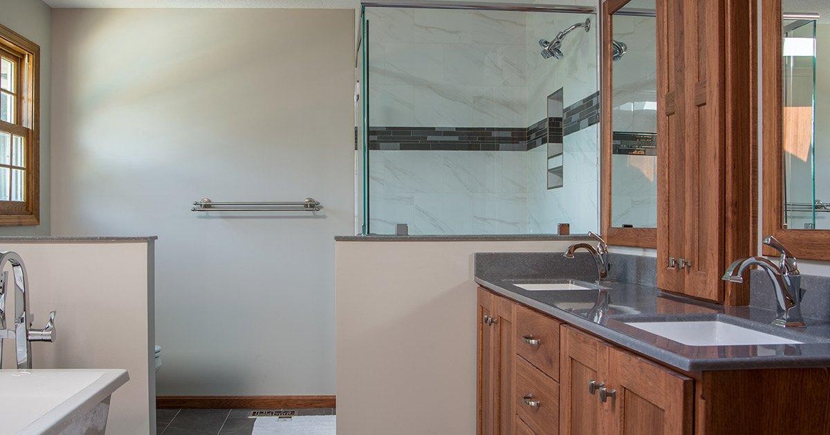 Lawrence Kitchen Remodeling Bathroom Remodeling Lawrence KS - Bathroom remodel lawrence ks
